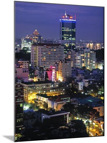 Saigon City, Ho Chi Minh City, Vietnam-Walter Bibikow-Mounted Photographic Print