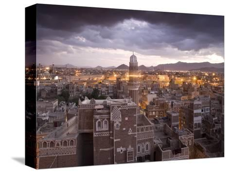 Sana'a, Yemen-Peter Adams-Stretched Canvas Print