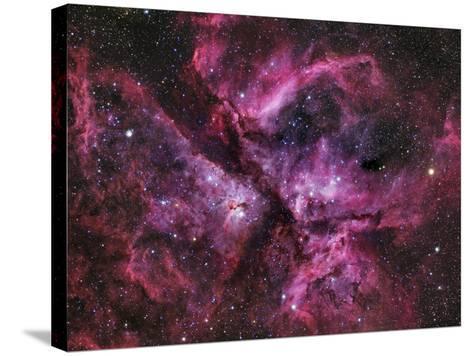 The Eta Carinae Nebula-Stocktrek Images-Stretched Canvas Print