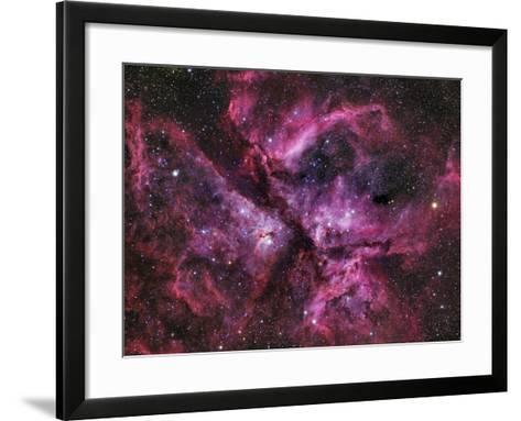 The Eta Carinae Nebula-Stocktrek Images-Framed Art Print