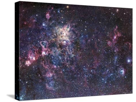 The Tarantula Nebula-Stocktrek Images-Stretched Canvas Print