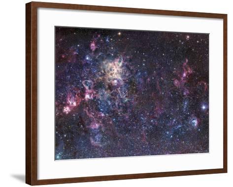 The Tarantula Nebula-Stocktrek Images-Framed Art Print