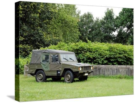 The VW Iltis Jeep Used by the Belgian Army-Stocktrek Images-Stretched Canvas Print