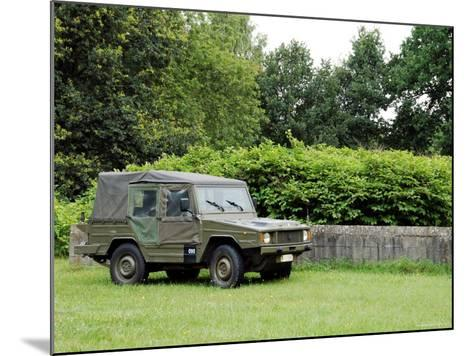The VW Iltis Jeep Used by the Belgian Army-Stocktrek Images-Mounted Photographic Print