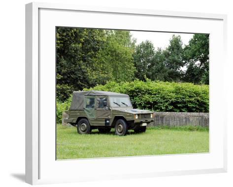 The VW Iltis Jeep Used by the Belgian Army-Stocktrek Images-Framed Art Print