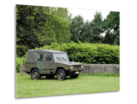 The VW Iltis Jeep Used by the Belgian Army-Stocktrek Images-Metal Print