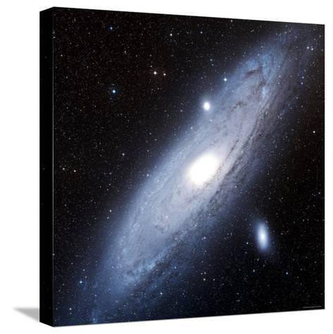 Andromeda Galaxy-Stocktrek Images-Stretched Canvas Print