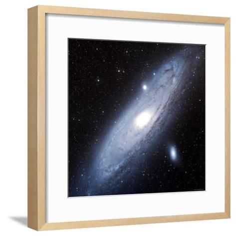 Andromeda Galaxy-Stocktrek Images-Framed Art Print