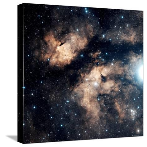 Butterfly Nebula-Stocktrek Images-Stretched Canvas Print