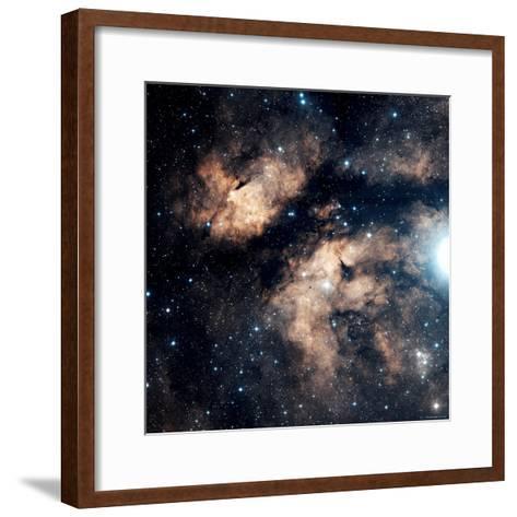 Butterfly Nebula-Stocktrek Images-Framed Art Print