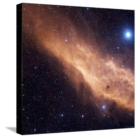 California Nebula-Stocktrek Images-Stretched Canvas Print