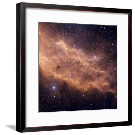 California Nebula-Stocktrek Images-Framed Art Print