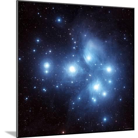 Pleiades Star Cluster-Stocktrek Images-Mounted Photographic Print