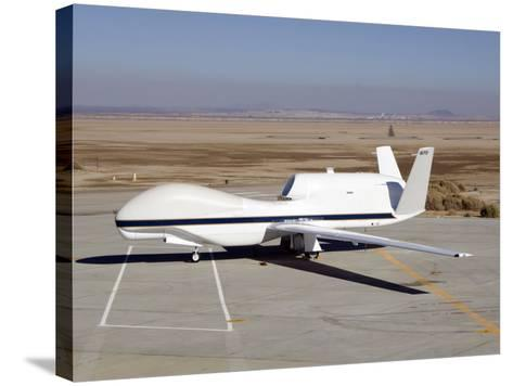 RQ-4 Global Hawk-Stocktrek Images-Stretched Canvas Print