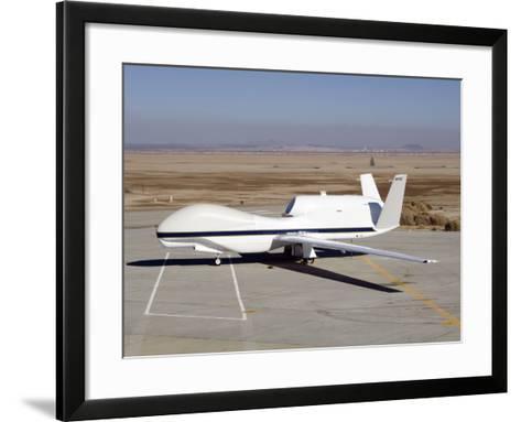 RQ-4 Global Hawk-Stocktrek Images-Framed Art Print