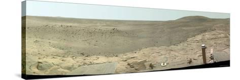 Westward View of Mars, True Color-Stocktrek Images-Stretched Canvas Print