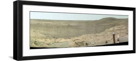 Westward View of Mars, True Color-Stocktrek Images-Framed Art Print