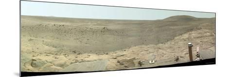 Westward View of Mars, True Color-Stocktrek Images-Mounted Photographic Print