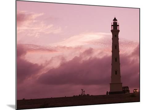 California Lighthouse, North End, Aruba, Caribbean-Walter Bibikow-Mounted Photographic Print