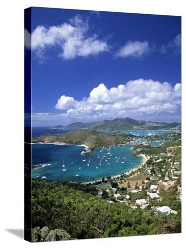Nelson's Dockyard, Antigua, Caribbean-Walter Bibikow-Stretched Canvas Print