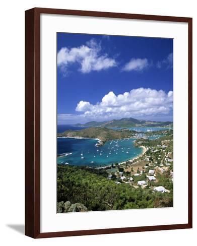 Nelson's Dockyard, Antigua, Caribbean-Walter Bibikow-Framed Art Print