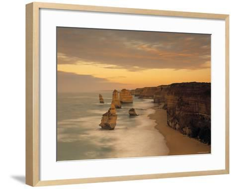 12 Apostles, Victoria, Australia-Peter Adams-Framed Art Print