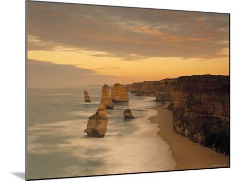 12 Apostles, Victoria, Australia-Peter Adams-Mounted Photographic Print