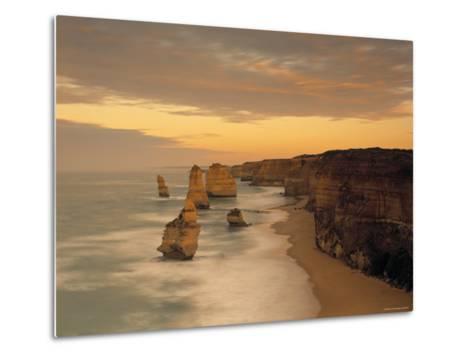 12 Apostles, Victoria, Australia-Peter Adams-Metal Print