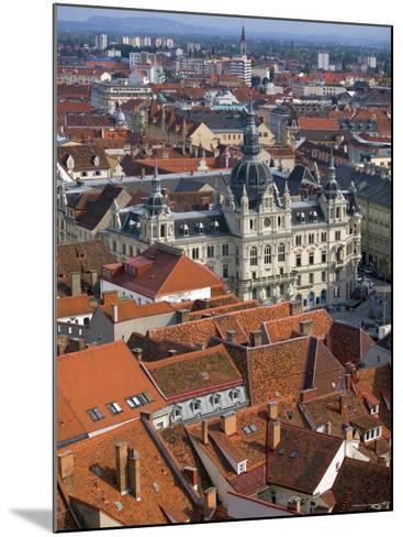 Town Hall, Graz, Styria, Austria-Walter Bibikow-Mounted Photographic Print