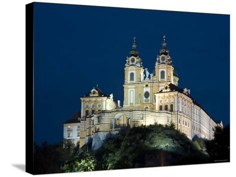 Melk Abbey, Melk, Wachau, Lower Austria, Austria-Doug Pearson-Stretched Canvas Print