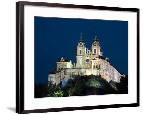 Melk Abbey, Melk, Wachau, Lower Austria, Austria-Doug Pearson-Framed Art Print