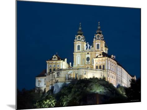 Melk Abbey, Melk, Wachau, Lower Austria, Austria-Doug Pearson-Mounted Photographic Print