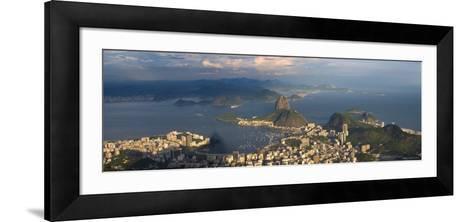 Sugar Loaf and Rio de Janeiro, Brazil-Michele Falzone-Framed Art Print