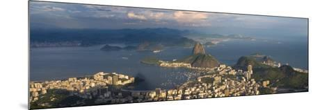 Sugar Loaf and Rio de Janeiro, Brazil-Michele Falzone-Mounted Photographic Print