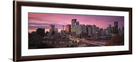 Calgary, Alberta, Canada-Walter Bibikow-Framed Art Print
