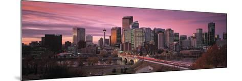Calgary, Alberta, Canada-Walter Bibikow-Mounted Photographic Print