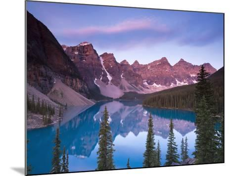 Moraine Lake and Valley of 10 Peaks, Banff National Park, Alberta, Canada-Michele Falzone-Mounted Photographic Print