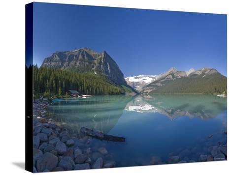 Lake Louise, Banff National Park, Alberta, Canada-Michele Falzone-Stretched Canvas Print