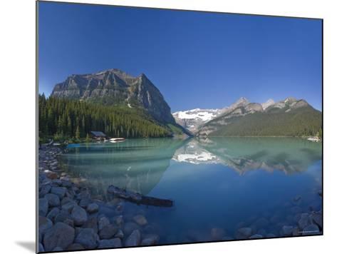 Lake Louise, Banff National Park, Alberta, Canada-Michele Falzone-Mounted Photographic Print