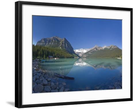 Lake Louise, Banff National Park, Alberta, Canada-Michele Falzone-Framed Art Print
