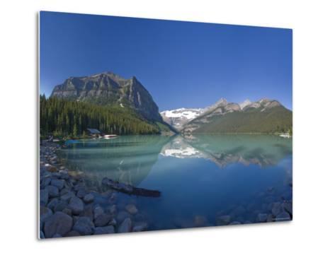 Lake Louise, Banff National Park, Alberta, Canada-Michele Falzone-Metal Print