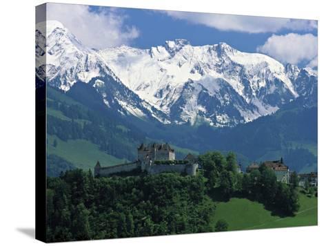 Gruyeres, Canton Fribourg, Switzerland-Jon Arnold-Stretched Canvas Print