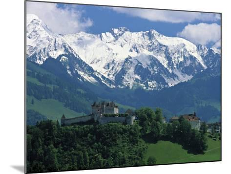 Gruyeres, Canton Fribourg, Switzerland-Jon Arnold-Mounted Photographic Print