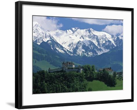 Gruyeres, Canton Fribourg, Switzerland-Jon Arnold-Framed Art Print