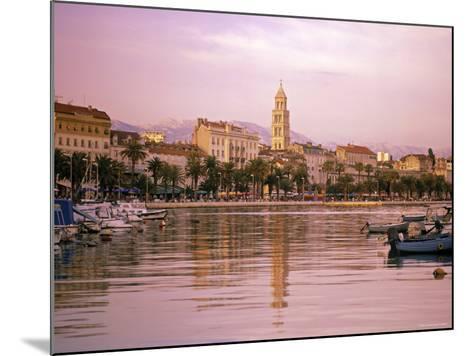 Waterfront at Split, Croatia-Alan Copson-Mounted Photographic Print