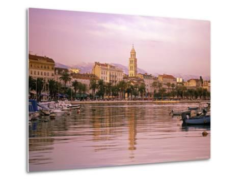 Waterfront at Split, Croatia-Alan Copson-Metal Print