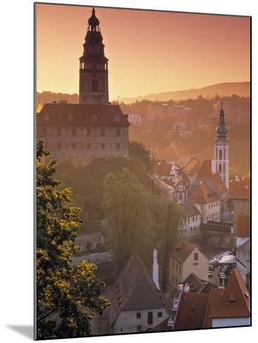 Cesky Krumlov, South Bohemia, Czech Republic-Walter Bibikow-Mounted Photographic Print