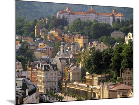 Karlovy Vary Spa Town, West Bohemia, Czech Republic-Walter Bibikow-Mounted Photographic Print