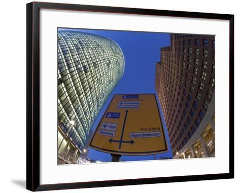 Potsdamer Platz, Berlin, Germany-Gavin Hellier-Framed Art Print