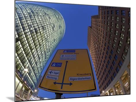 Potsdamer Platz, Berlin, Germany-Gavin Hellier-Mounted Photographic Print